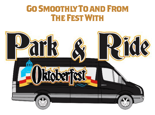Park & Ride to and from Oktoberfest!